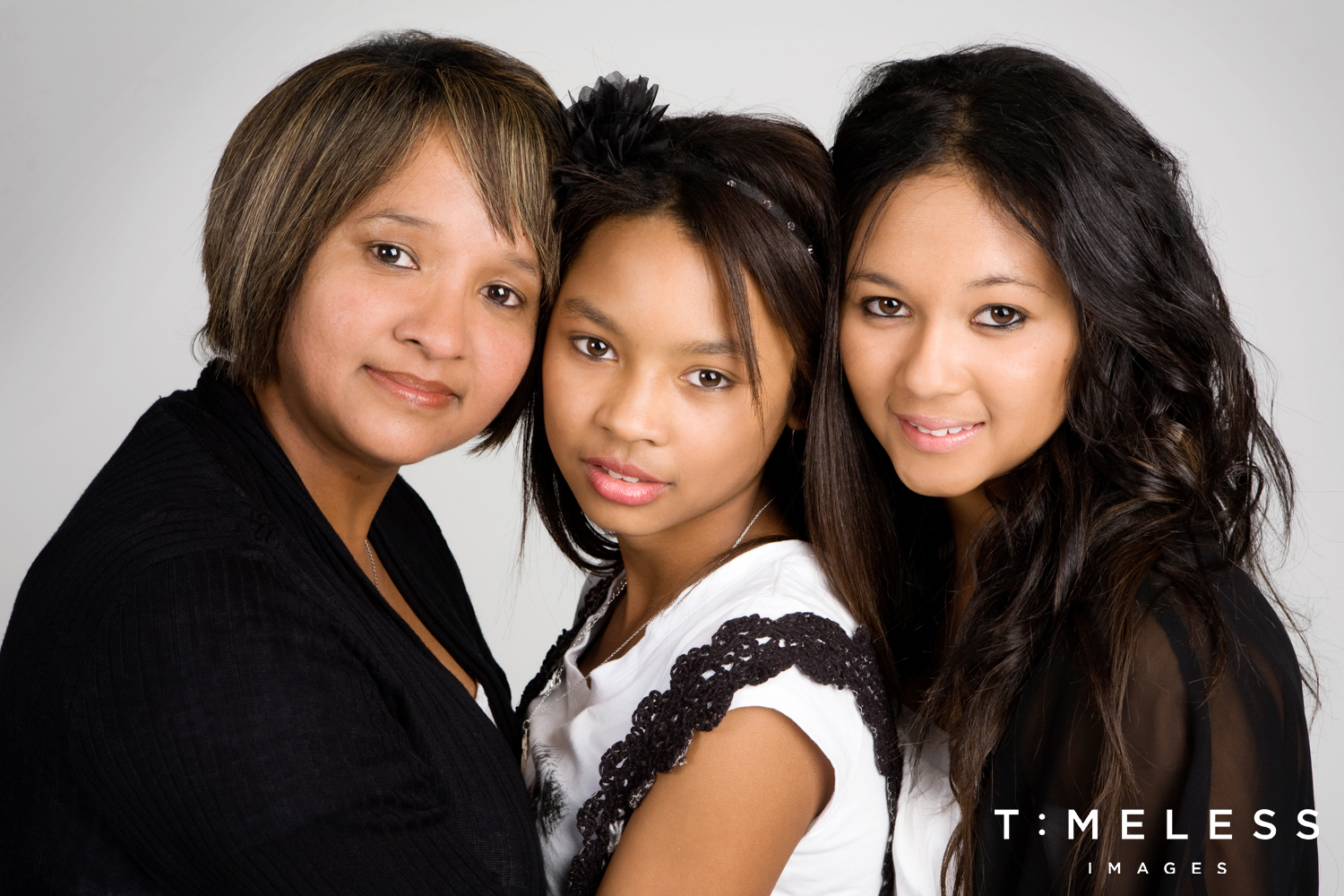 Family Portrait - Mum and Daughters