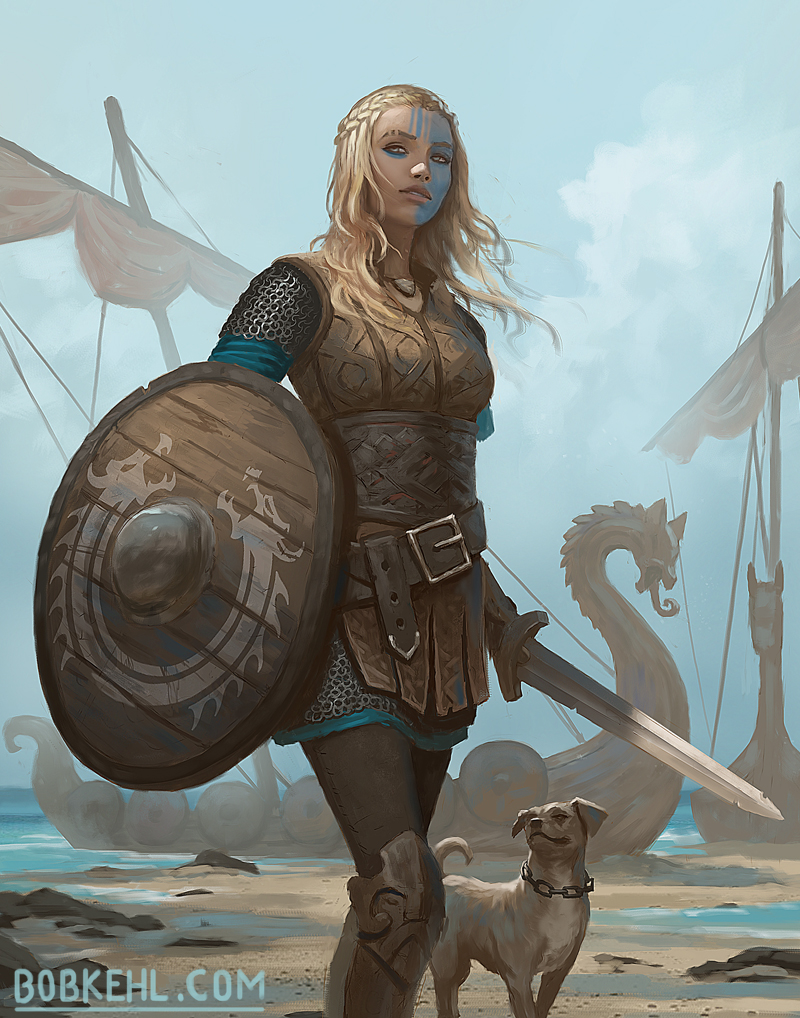 Shield Maiden - Bob Kehl.jpg