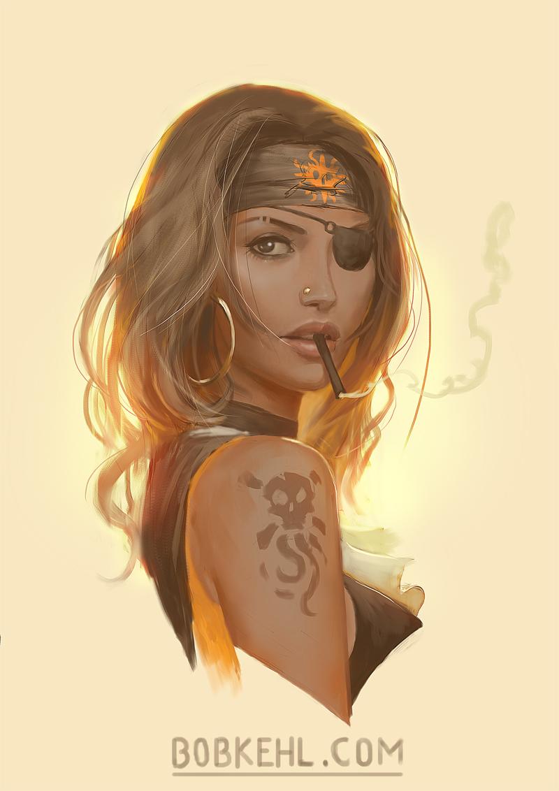 Burning sun pirate - Bob Kehl.jpg