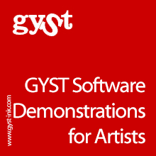 GYST Software Demonstrations for Artists