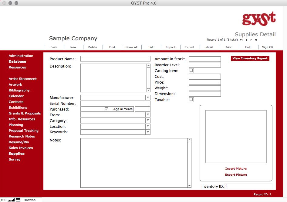 GYSTPro 4.0 Software for Artists_ Supplies for Artists