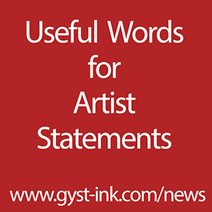 Useful Words for Artist Statements