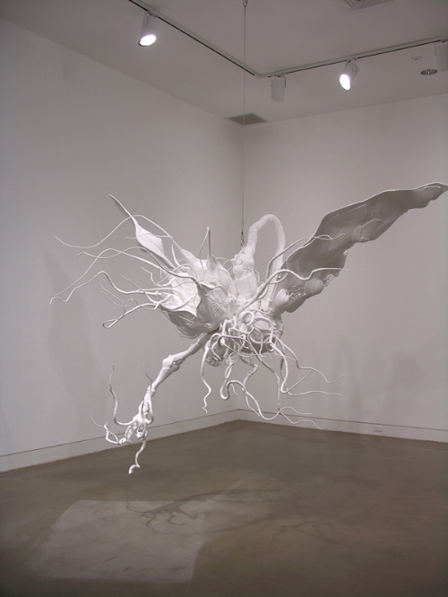Art work by Lee Bul in the OCMA collection.