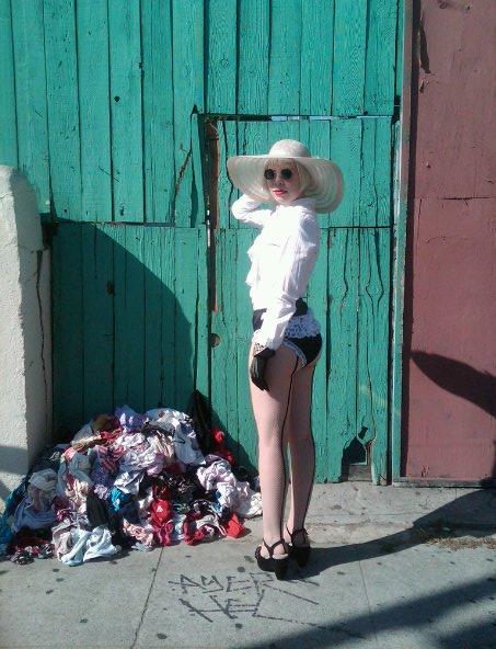 """Kate Durbin, """"Pile of Panties."""" 2011."""