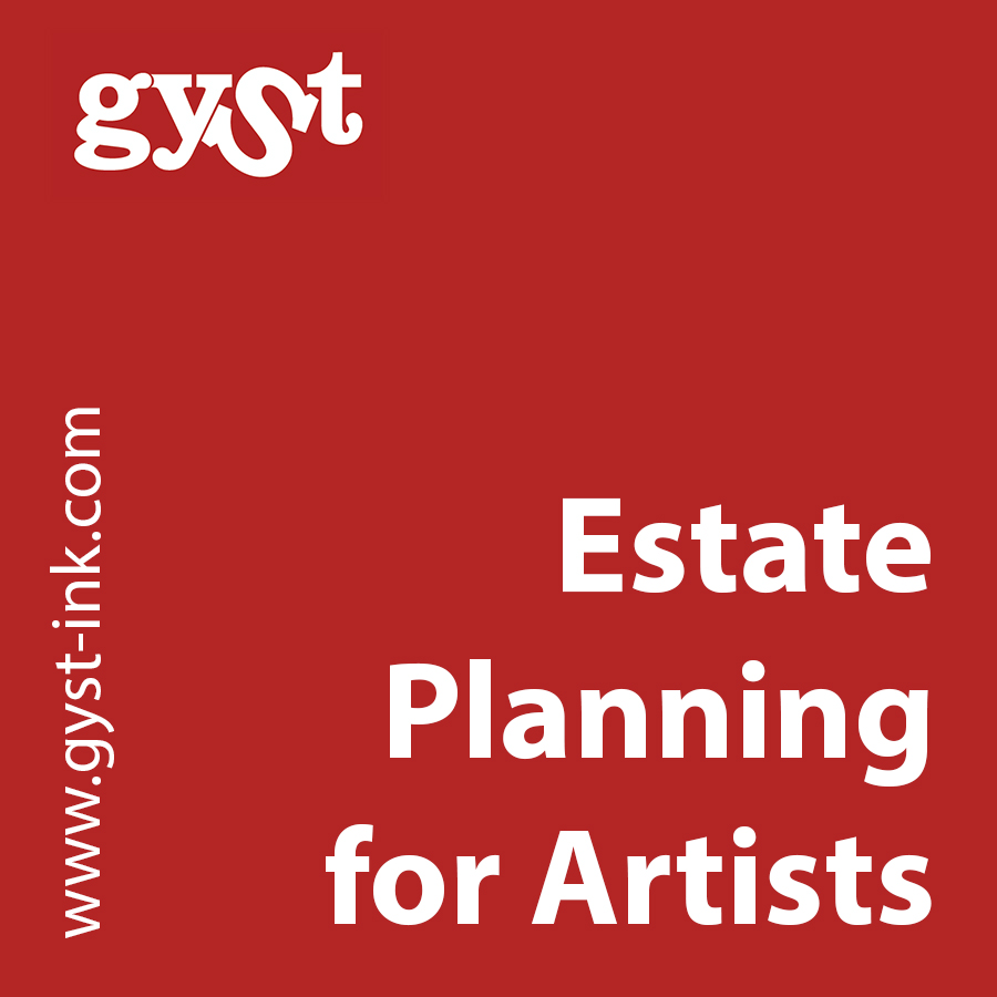estate planning for artists