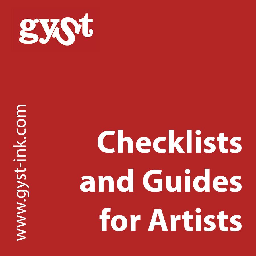 checklists and guides for artists