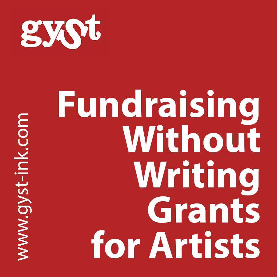 fundraising without writing grants for artists