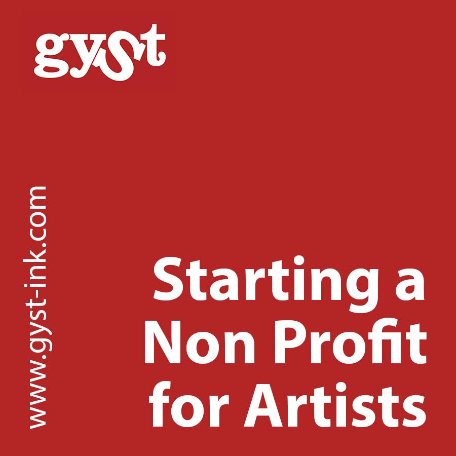 starting a nonprofit arts organization
