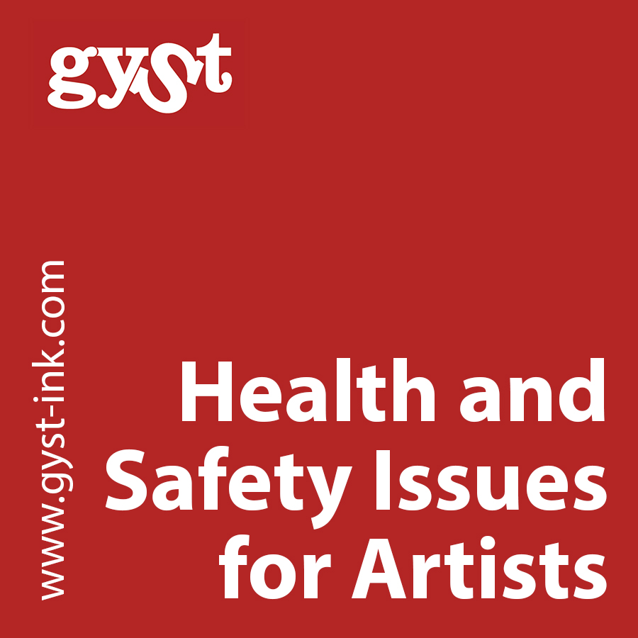 health and safety issues for artists