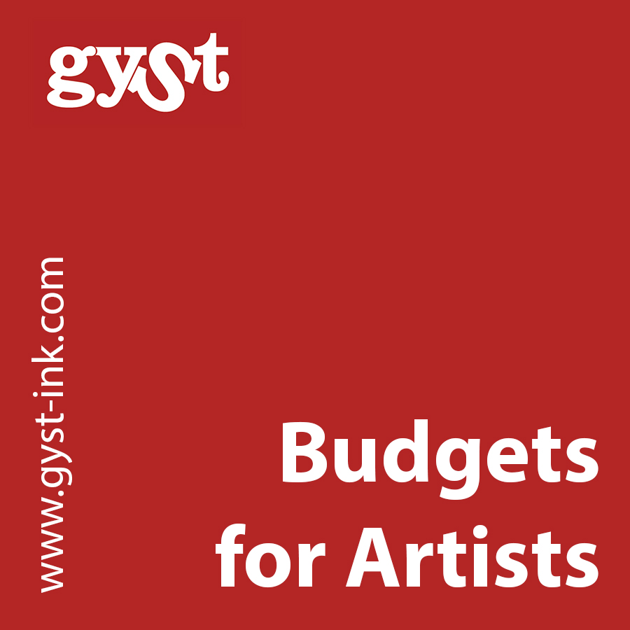 budgets for artists