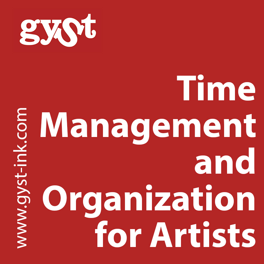 time management and organization for artists