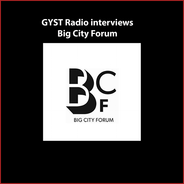 GYST DO IT! With Big City Forum - Leonardo Bravo is the founder of Big City Forum,an independent, interdisciplinary project that encourages explorations and exchanges between various creative disciplines.Big City Forum (BCF), founded in 2008 by Los Angeles-based artist, educator, and activist Leonardo Bravo,explores the intersection between design-based creative disciplines within the context of public space, the built environment, and social engagement.Through dozens of symposiums, forums, exhibitions, and special events, held all over the city of Los Angeles,BCF has been providing public access to forward-thinking projects, panels,exhibitions and workshops that has brought hundreds of artists, activists, scholars, architects, urban planners,and creative thinkers together in dialogue and collaborative art making.Follow BCF on Blogspot:http://bigcityforum.blogspot.comand Facebook:https://www.facebook.com/Big-City-Forum-95125138032/?fref=tsHosted by Kara Tomé
