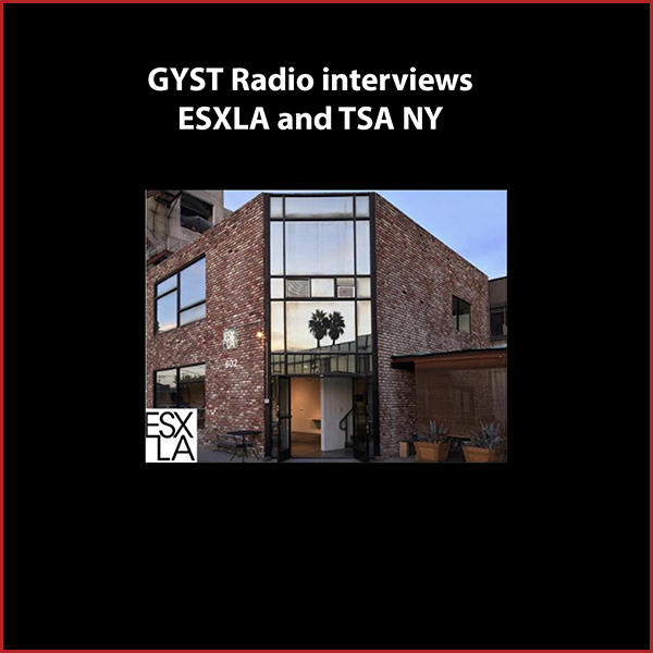 GYST DO IT! ESXLA and TSA NY - Guests are artists Jason Ramos and Rachael Gorchov.Jason and Rachael talk about having a diversified artistic practice that includes being deeply committed to and involved in artist-run initiatives.Jason founded (along with artists Michelle Carla Handel and Molly Shea)and directs Eastside International (ESXLA),an artist-run contemporary art space and international artist residency based in downtown Los Angeles.ESXLA hosts artists to live, work, and immerse themselves in the local art community.ESXLA's exhibition program features local, national, and international emerging and established artists in a non-commercial alternative venue.Rachael Gorshov was an artist in residence at ESXLA in 2014.She is a member of Tiger Strikes Asteroid (TSA)in New York. TSA is a network of artist-run spaces with locations in Philadelphia, New York, and Los Angeles. Each space is independently operated and presents a program of emerging and mid-career artists. The goal is to collectively bring people together, expand connections and build community through artist-initiated projects.Hosted by Kara Walker Tomé