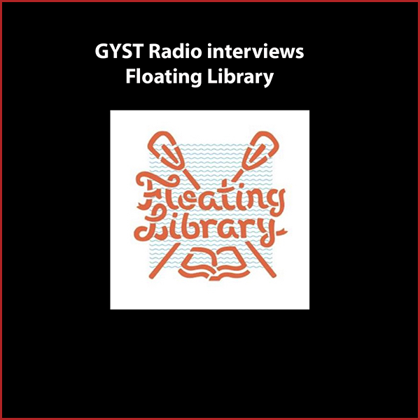 GYST DO IT! With The Floating Library - Sarah Petersis an artist, writer, arts administrator and public art project creator, based in Minneapolis, Minnesota. Her passion project,The Floating Library,explores the underused amenity of the urban lake as a civic and creative place for public engagement. The Floating Library is a boat stocked with artist-made books that has floated in lakes around Minneapolis and in Los Angeles, in the man-made Echo Park Lake, as part of the L.A. Art Book Fair.For the past six years Sarah has been part of the team that produces and organizes the annual one-night public art event Northern Spark, which draws thousands of people for a dusk to dawn festival that activates the entire city through participatory art projects and performances.Hosted by Kara Tomé