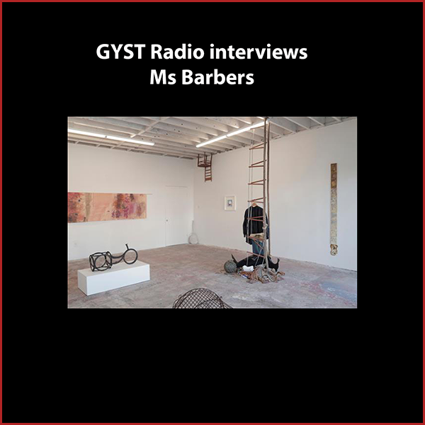 GYST DO IT! With Ms. Barbers - Ms Barbers is an artist-run gallery in the West Adams neighborhood of Los Angeles, co-founded by Anton Leiberman, Becky Kolsrud, Kiki Johnson and Dustin Metz, and includes artists Alida Berden, Catherine Fairbanks and Conner Fields.Guests on the show Kiki and Dustin talk about how and why the space was started one year ago, as well as the shared curatorial vision of the group. msbarbers.comHosted by Kara Tome