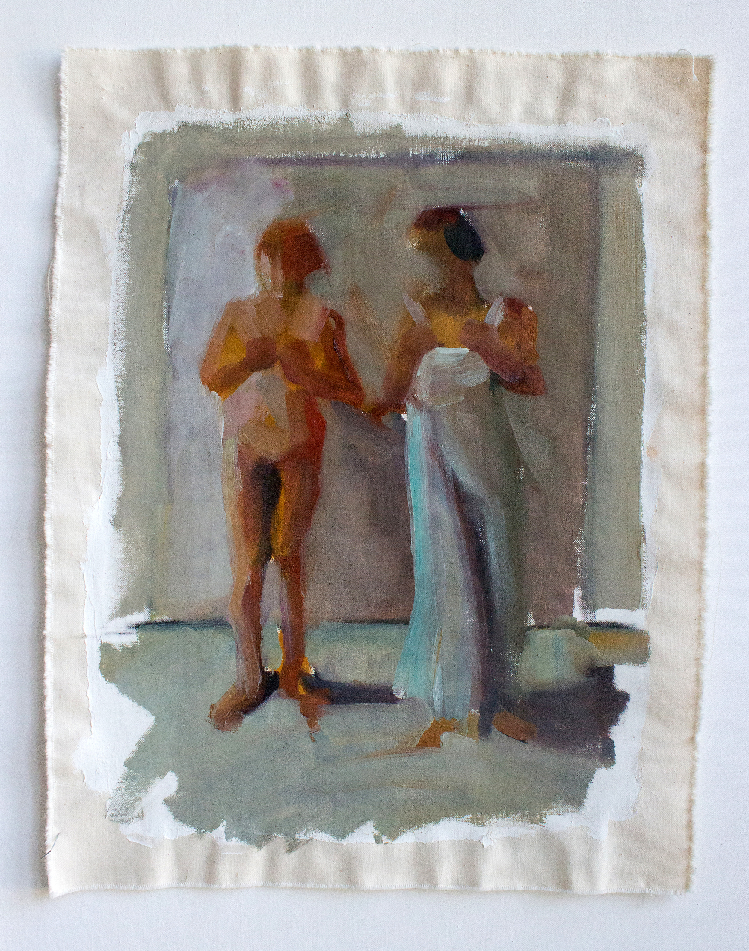 """Access 5_H19""""xW14.5""""_Oil on canvas_2014"""