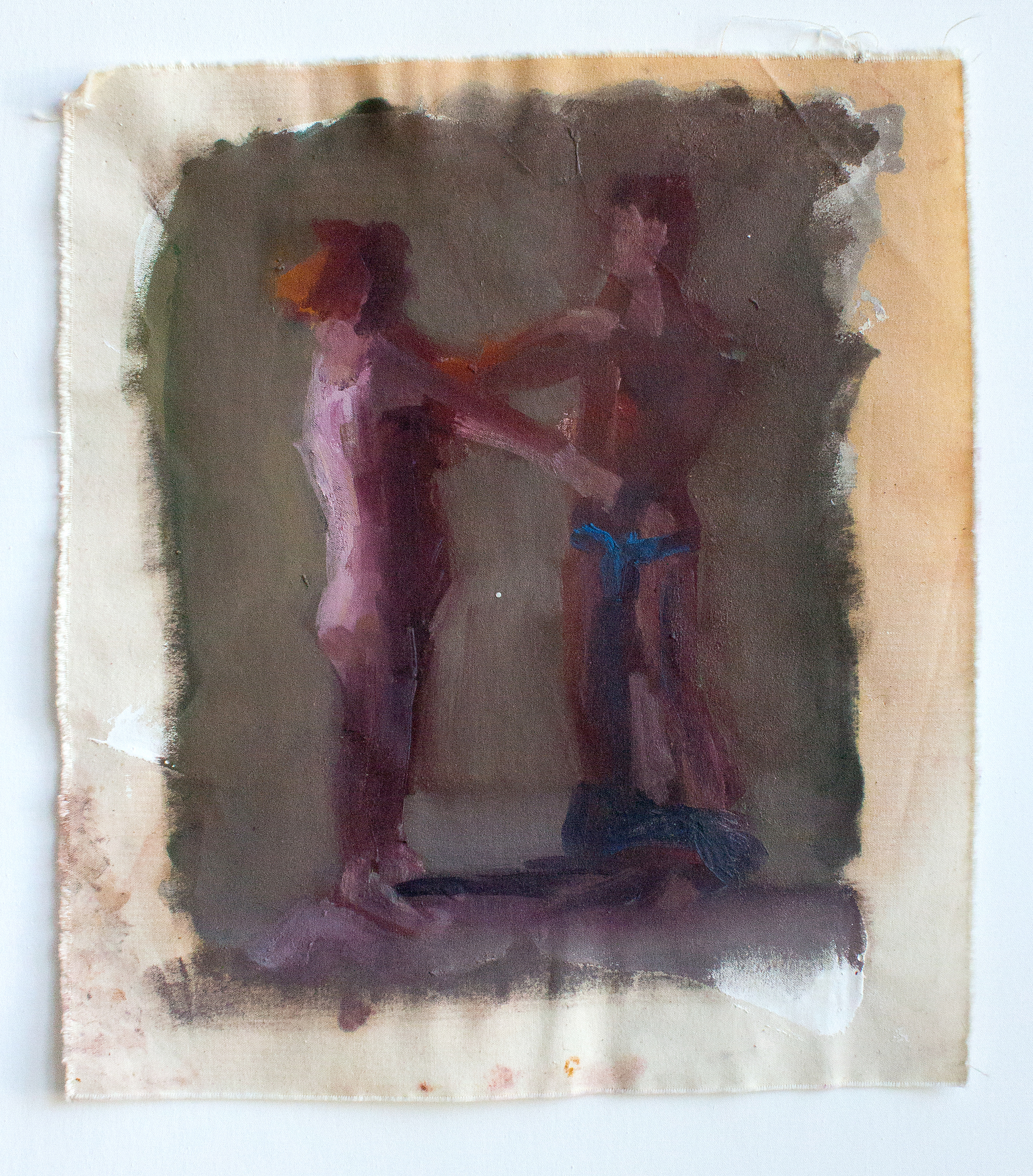 "Access_Awake 1_H18""xW15.5""_Oil on canvas_2015"