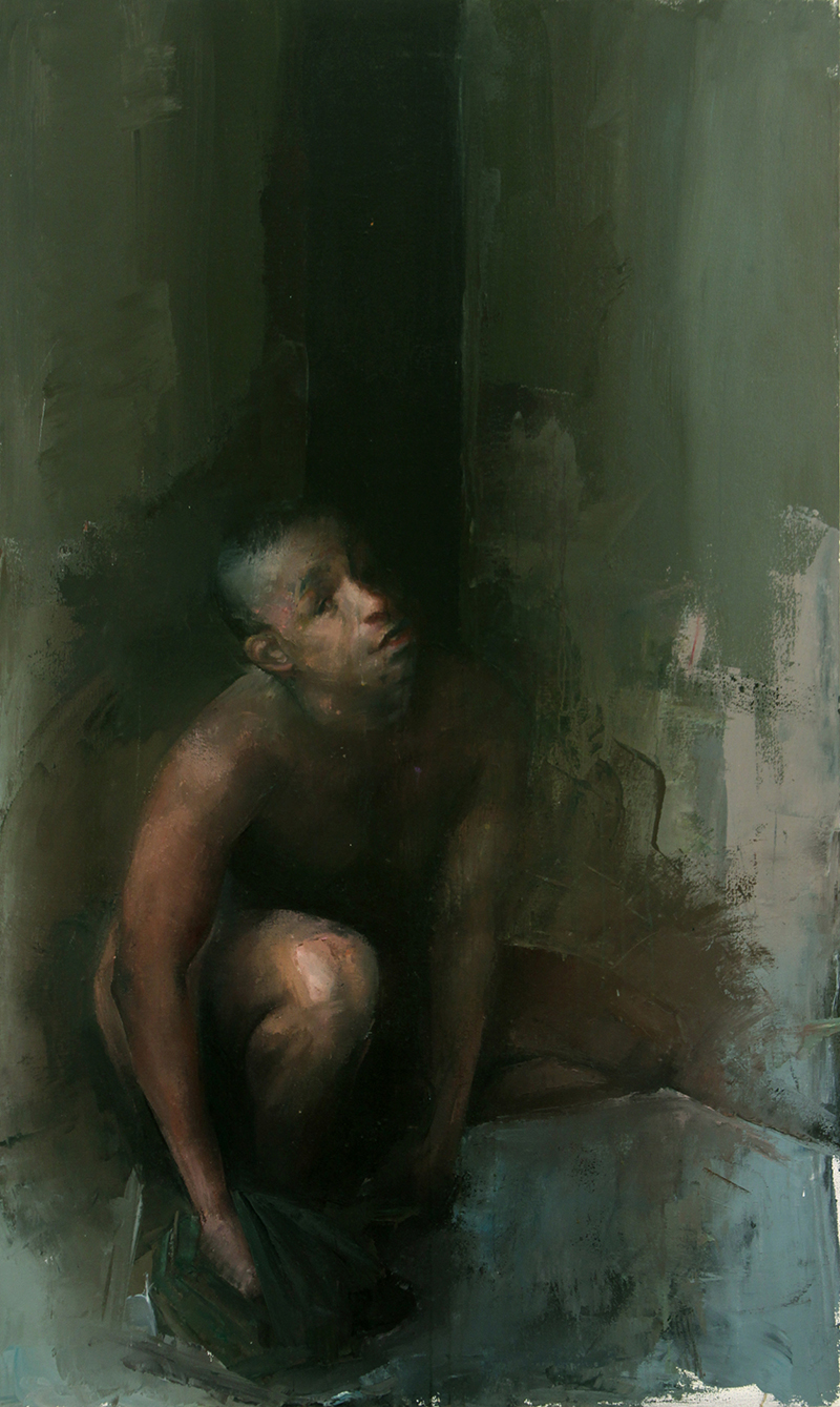 """Every Body Knows, midday 1, Oil on canvas, H60""""xW36"""", 2007"""