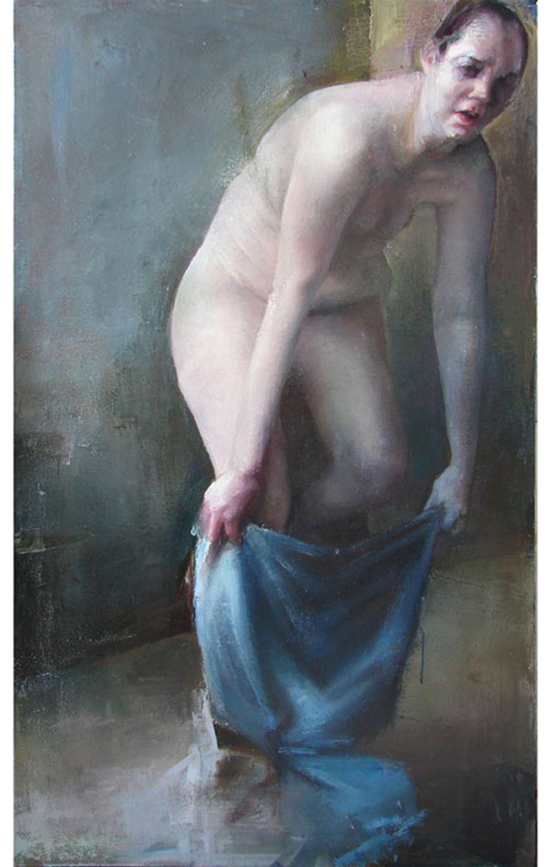 """Every Body Knows, midday 3, Oil on canvas, H60""""xW36"""", 2007"""