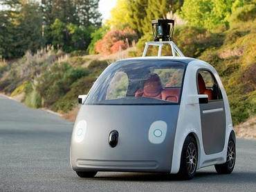 Google Self-Driving Car Prototype  Source:  CNET