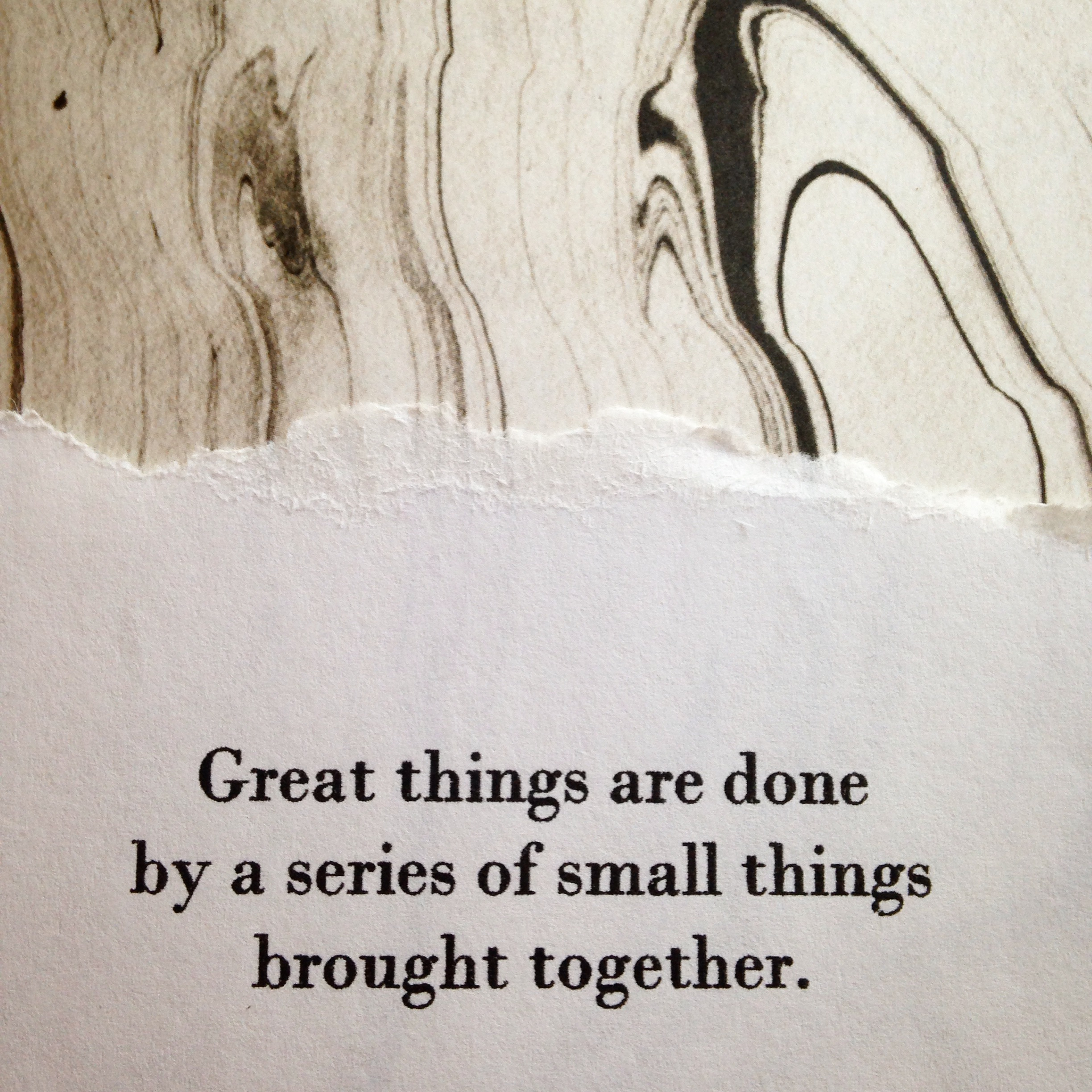 Small steps add up. Let's get good at the small steps. | lucyflint.com