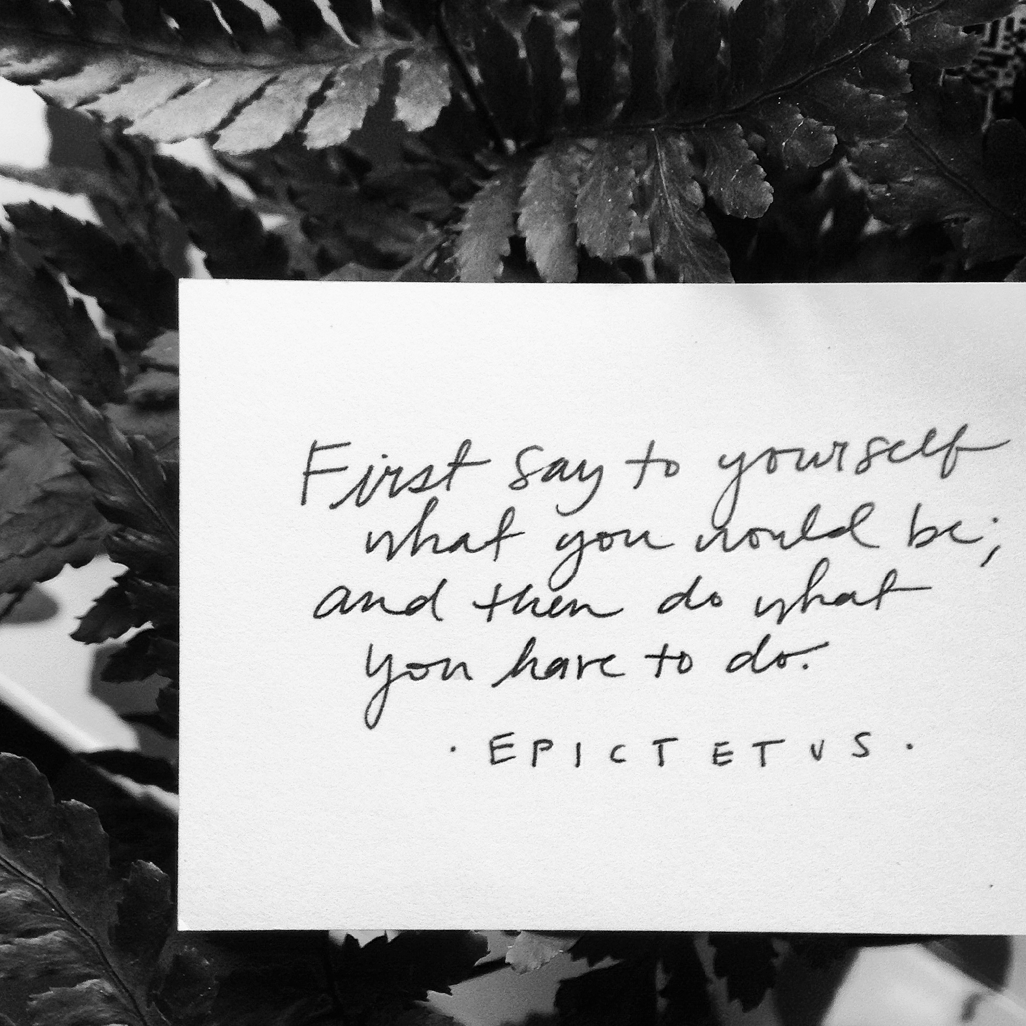 Decide what it is you want to do, and then go after it. | lucyflint.com