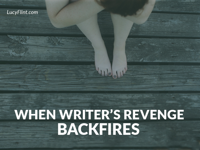 It's our privilege to put our personal enemies in our novels, and get their flaws down on paper. But sometimes it backfires on us. And not in the way you'd expect. | lucyflint.com