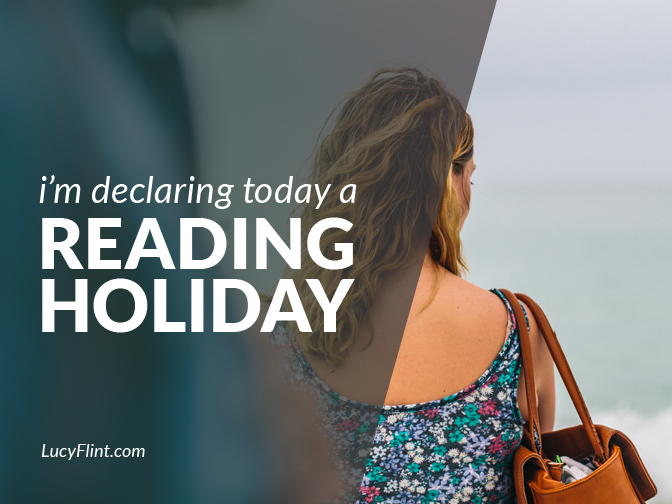 If it's been too long since you've gotten lost in reading: today is your day (and mine). Let's dive deep. | lucyflint.com