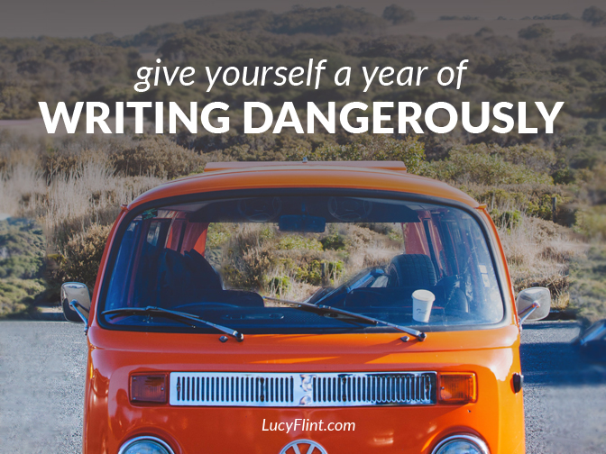 Embark on a glorious year of writing. | lucyflint.com