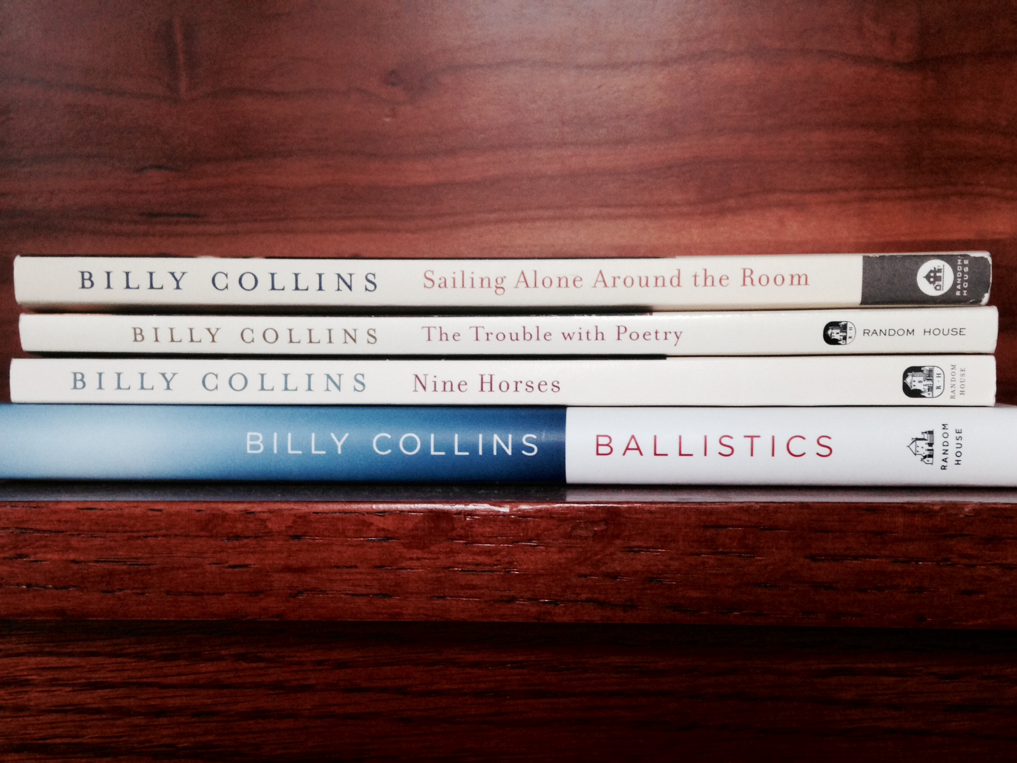 Do yourself a HUGE favor and curl up with a copy of Billy Collins' poems. You won't be sorry. | lucyflint.com