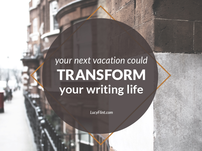 A paradoxical thing happens when we visit the places where famous writers wrote. And it just might change your writing life.   lucyflint.com