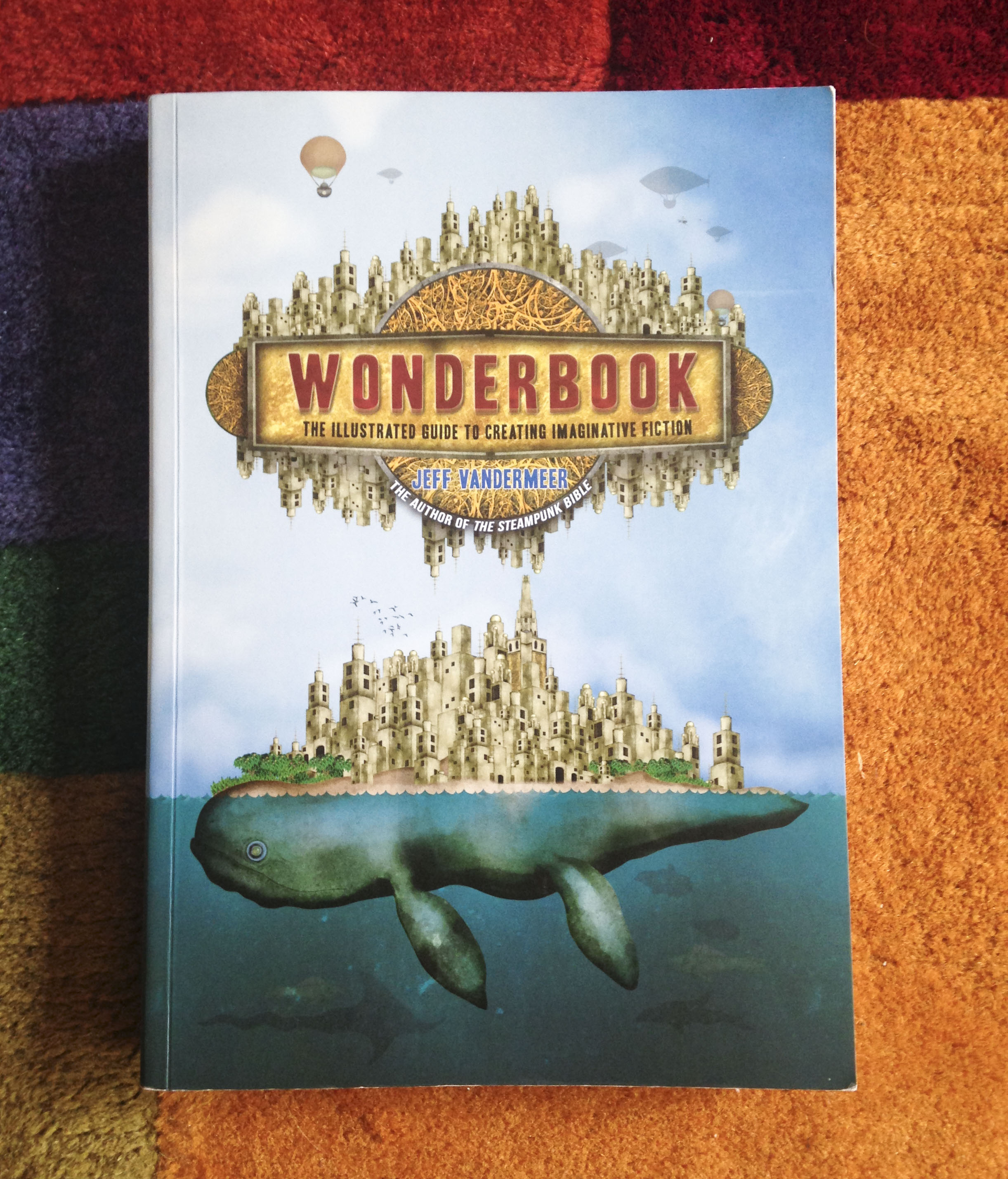 You've just met the spectacular WONDERBOOK. And your life may never be the same again. | lucyflint.com