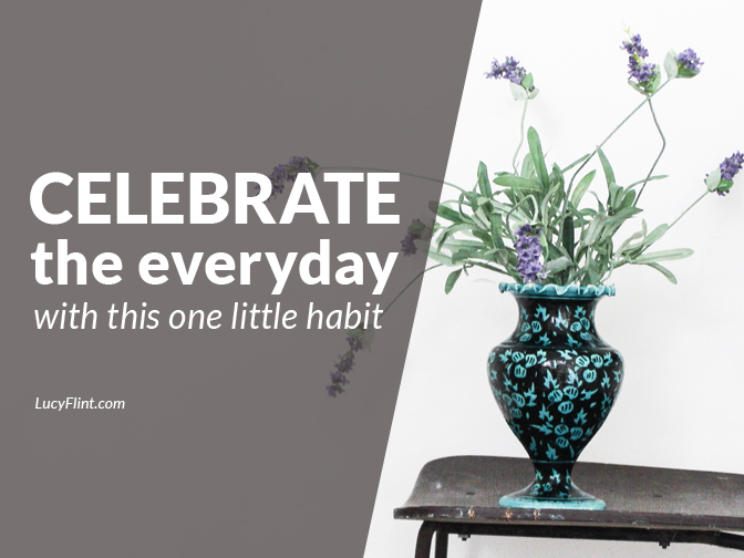 Give special attention to everyday moments, deepen your ability to observe, and, you know, generally revolutionize your whole approach to life with a simple, daily habit. Yes, really. | lucyflint.com