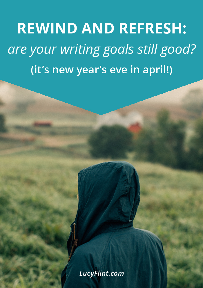 New Year's Eve is all well and good, but how are your resolutions and goals looking now? Yeah? Mine too. Time for a refresh. | lucyflint.com