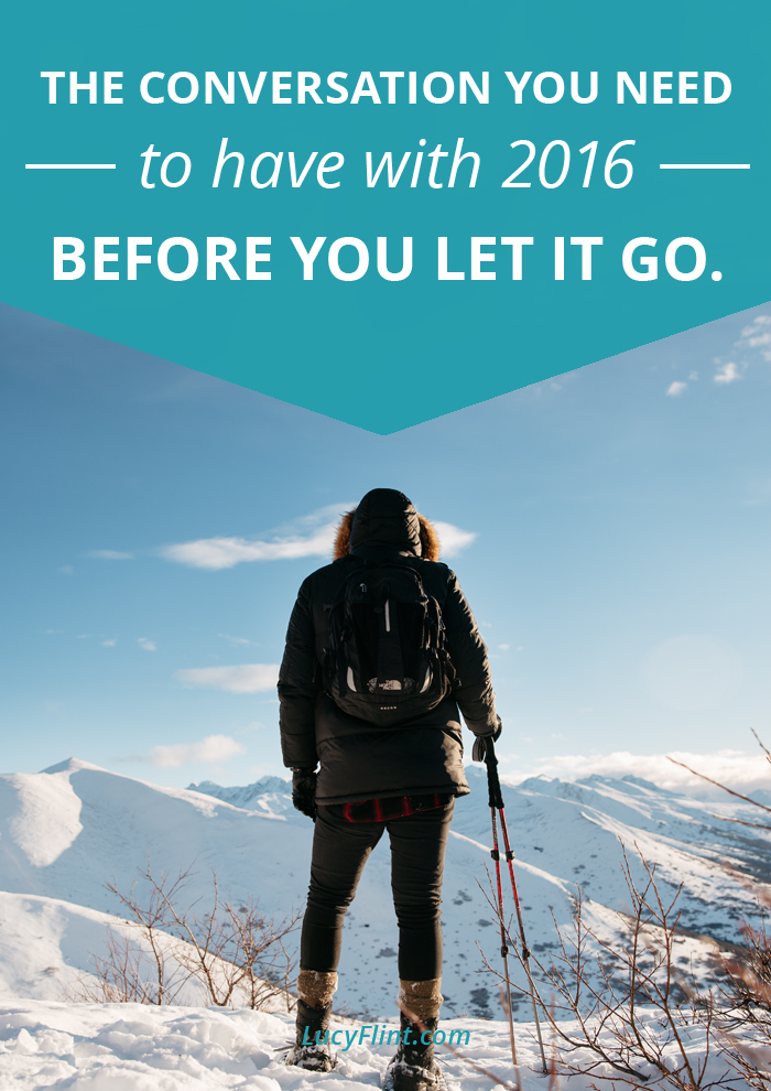 My 2016 wasn't what I thought it would be. But it was worth it. How about yours?   lucyflint.com