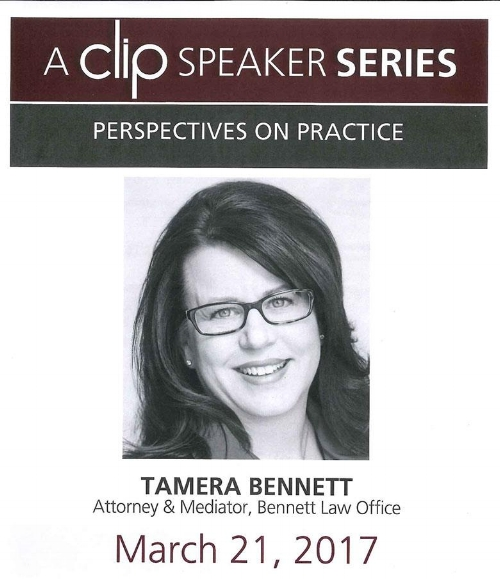 Tamera Bennett Texas A&M Law School CLIP Speaker Series