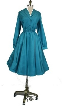 How great is this little number from the 50s. She's silk, too!