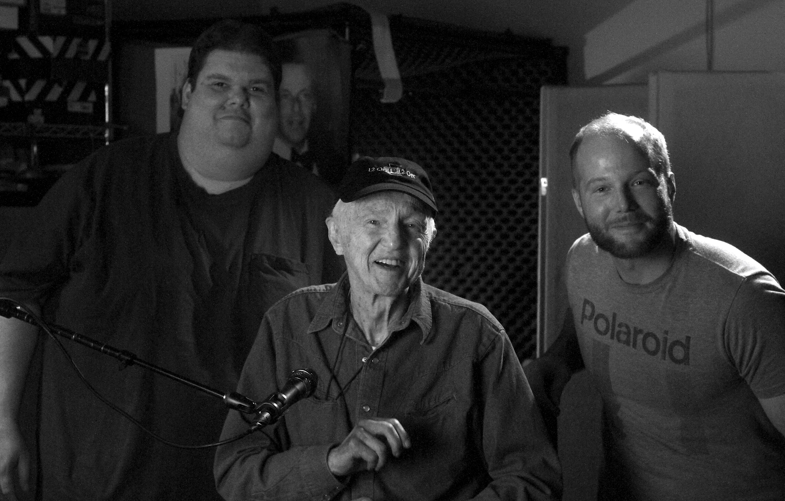 Haskell Wexler drops in at Cinematic Immunity Studios