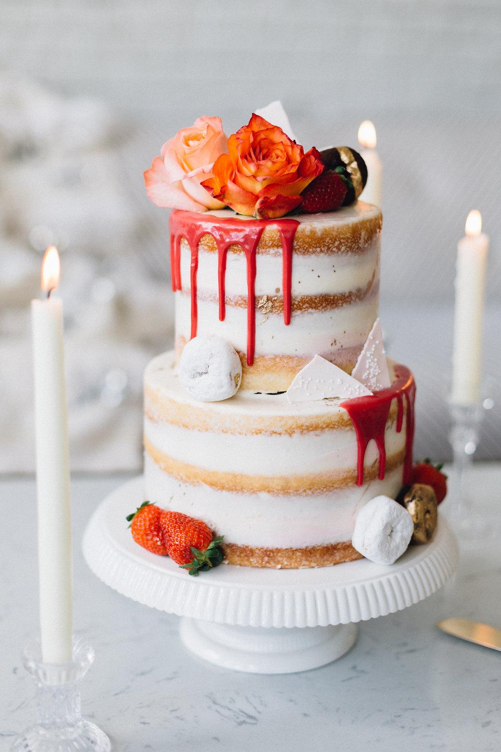 austin wedding cake