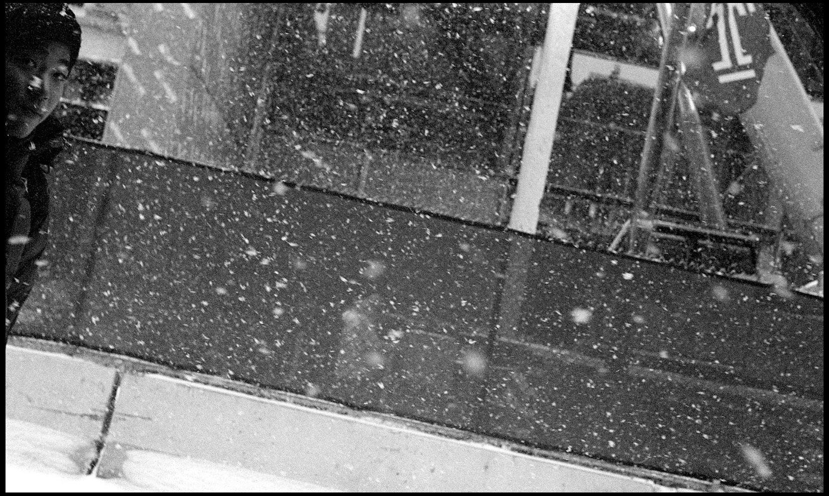 Snowstorm, North Philadelphia.