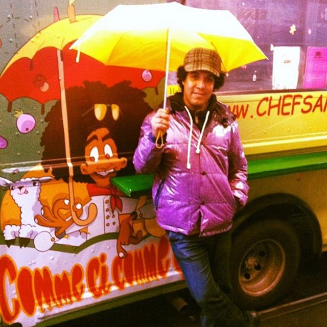 We're thrilled to have 2011 #vendyawards finalist @chefsamirtruck and his great Moroccan street food back for the Final Vendys — now only 5 days away! You don't want to miss this one — get your tickets for Saturday's celebration today through the link in our profile!