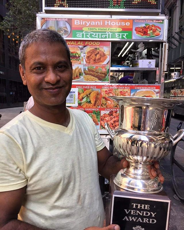 Big news! Shaheen's beloved Biryani House is joining the final #vendyawards All-Star Vendy Cup lineup. He first competed in 2015. Join us to try Shaheen's delicious food on Saturday! Tickets through the link in our profile.