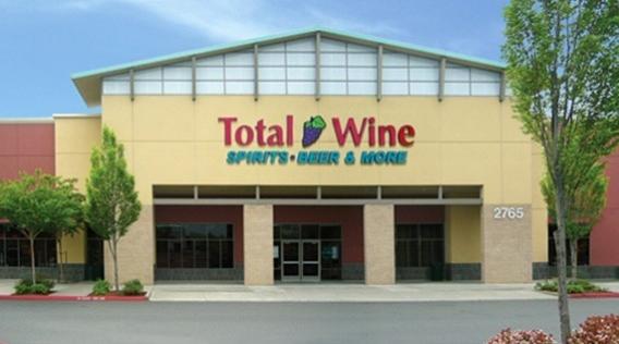Total Wine- Folsom - Broadstone Plaza2765 E. Bidwell St.Folsom, California(916) 984-6923