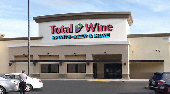 Total Wine- Elk Grove - Laguna Crossroads7707 Laguna Blvd. Suite 140Elk Grove, California(916) 478-6079