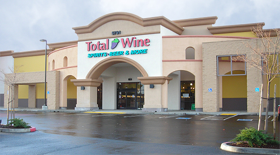 Total Wine- Roseville - Fairway Commons Shopping Center5791 Five Star BoulevardRoseville, California(916) 791-2488