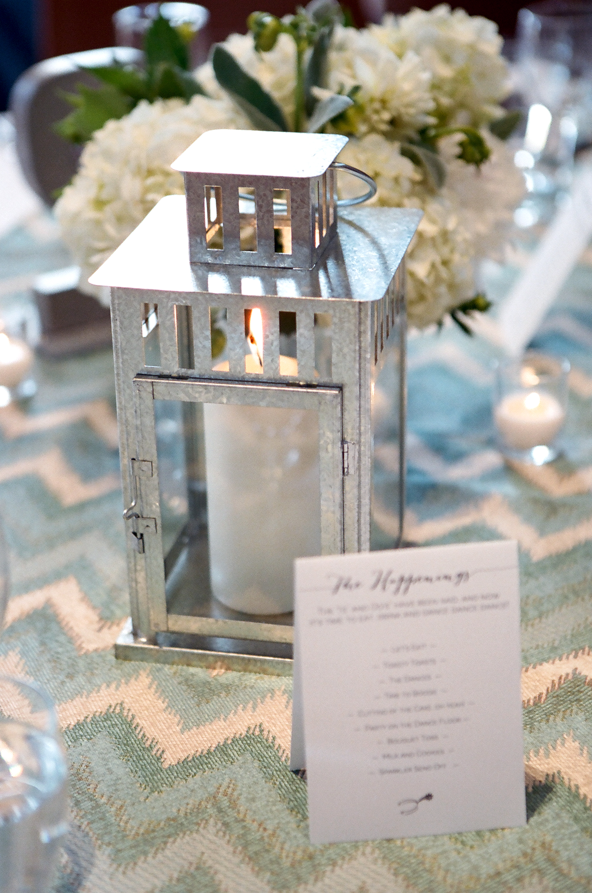 lanterns wedding center pieces