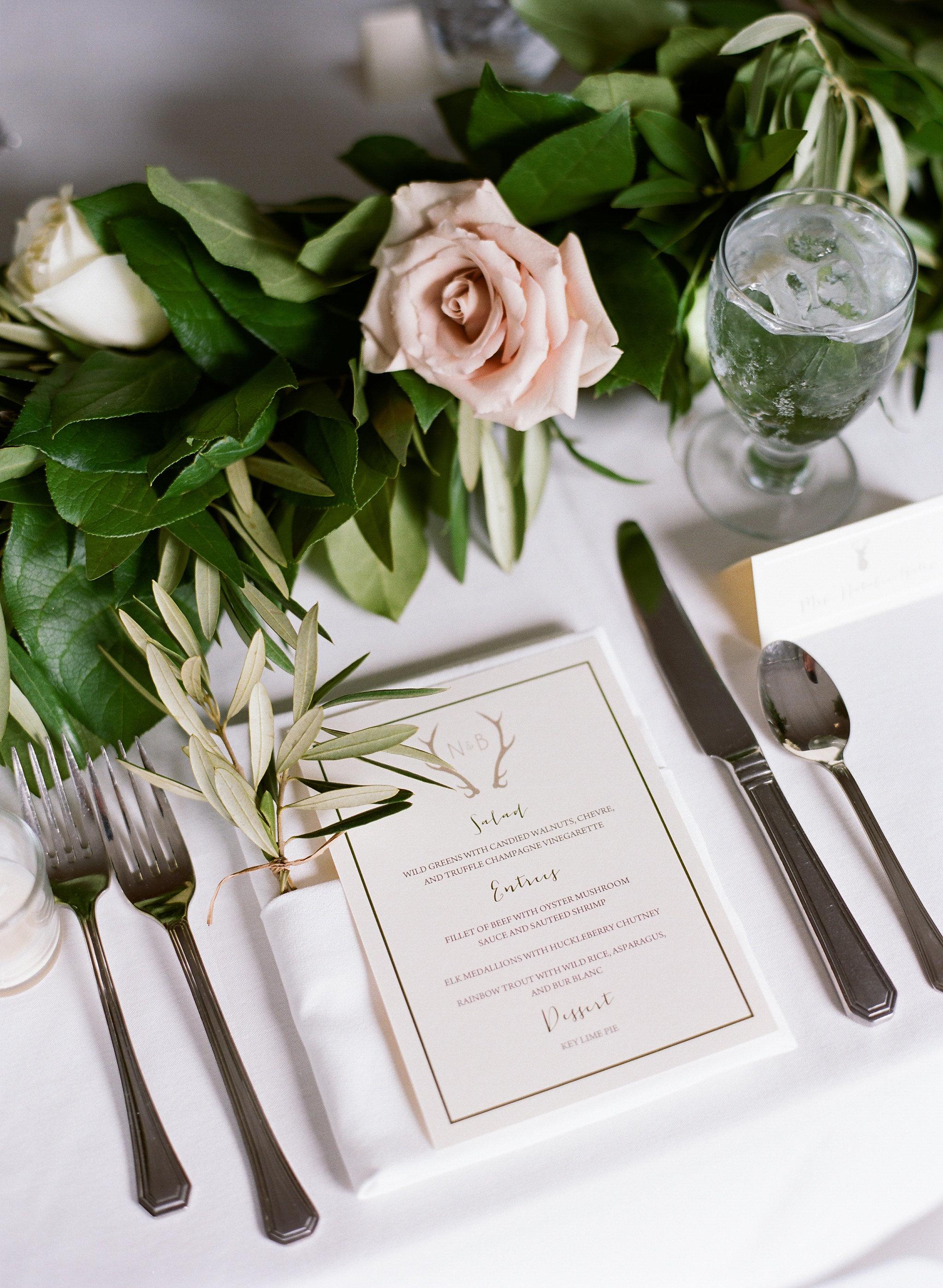 Jackson Hole elegant wedding