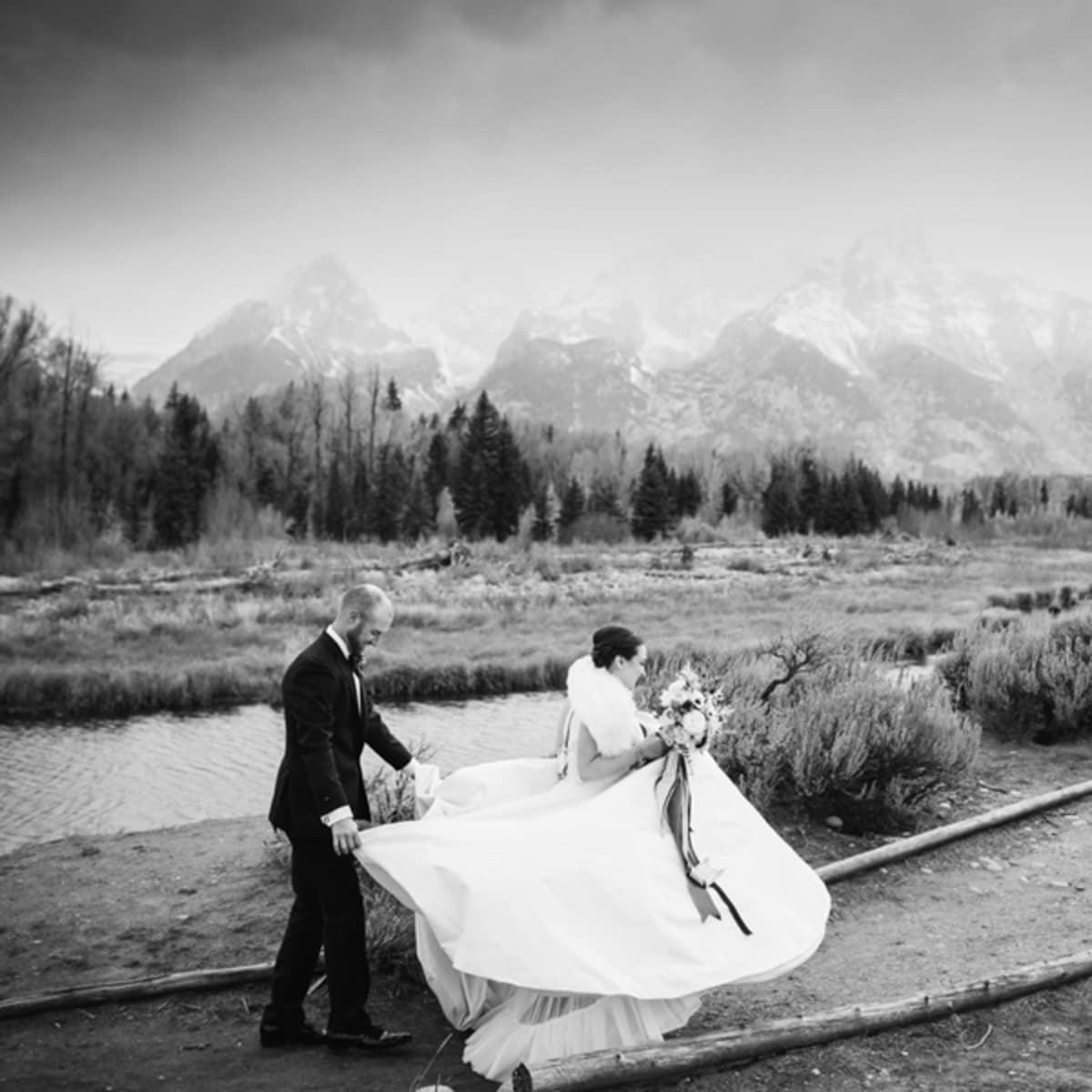 Jackson Hole Wedding at the Four Seasons Resort