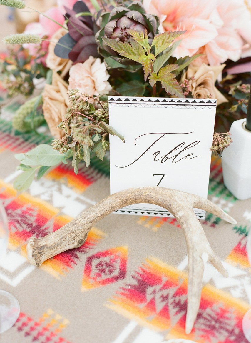 Wedding Table Settings Rustic Boho Wedding