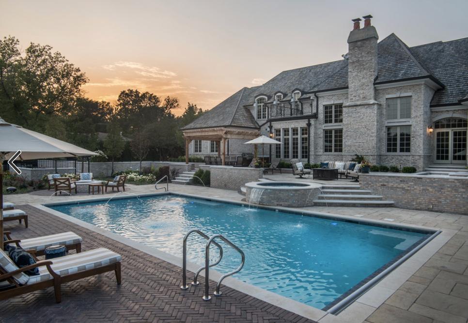 Pool decks -